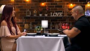 Mari Carmen y Rafael tuvieron una cena muy tensa