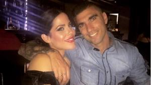 Noelia López sonriente junto a su marido, José Antonio Reyes