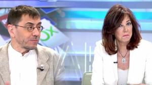 Nuevo pique entre Monedero y Ana Rosa