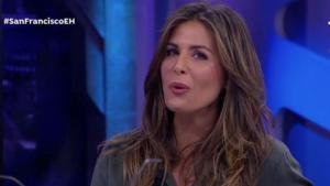 Nuria Roca, durante su intervención en 'El hormiguero' hablando de sus cachorros