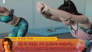 Pilar Rubio entrenará hasta el último momento antes de su boda