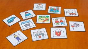 Proposta de senyalització amb pictogrames per a les persones amb autisme