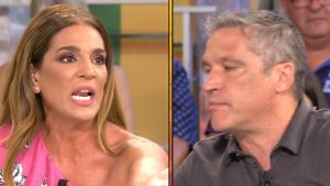 Raquel Bollo se enfrentó a Gustavo González