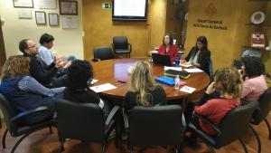 Reunió de la Comissió impulsora de la redacció del Pla.