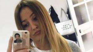 Rocío Flores posando en Instagram