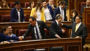 Rull, Turull i Sànchez, al Congrés dels Diputats