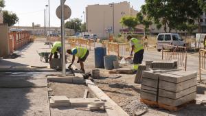 S'inicien les obres d'urbanització del carrer Camí de la Creu de Cambrils