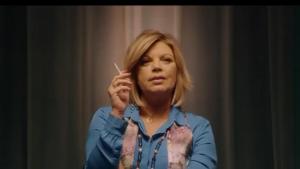 Terelu durante el cameo en el final de la segunda temporada de la serie