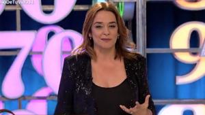 Toñi Moreno en su programa 'Un año en tu vida'