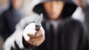 Un agressor, en una imatge d'arxiu