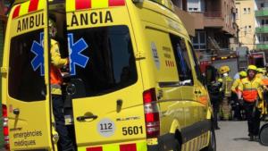 Un ferit en una explosió a l'interior d'un pis de Santa Coloma de Gramenet