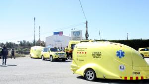 Un mort, un crític i set ferits més en l'accident químic a TGN