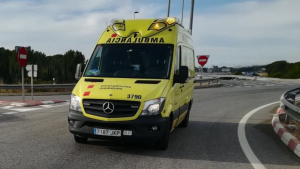 Una ambulància del SEM, en un imatge d'arxiu
