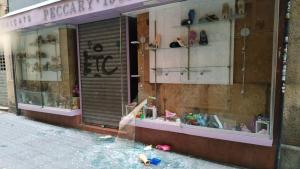Una sabateria de la Part Alta de Tarragona ha patit un robatori amb força aquesta matinada.