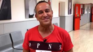 Víctor Sandoval quiere perder peso