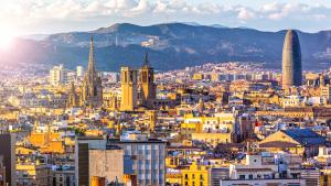 Vista panòramica de Barcelona
