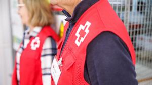 Voluntaris de la Creu Roja