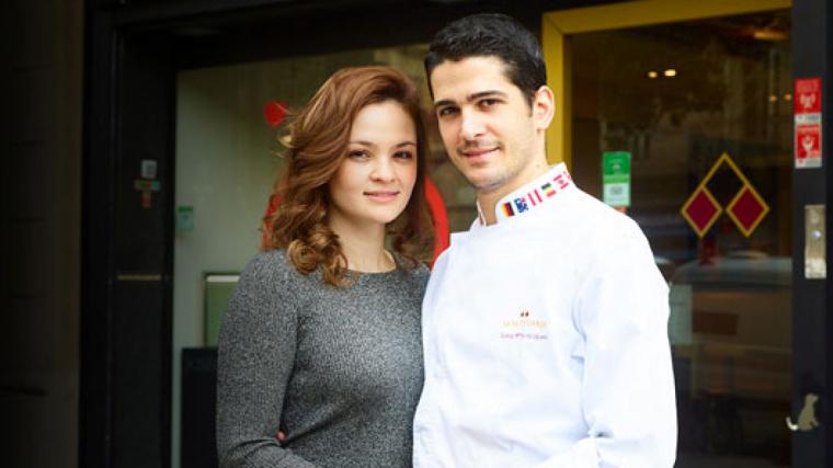 Josep Maria Rodriguez Guerola treballa amb la seva dona, Ana Lucía Jarquín