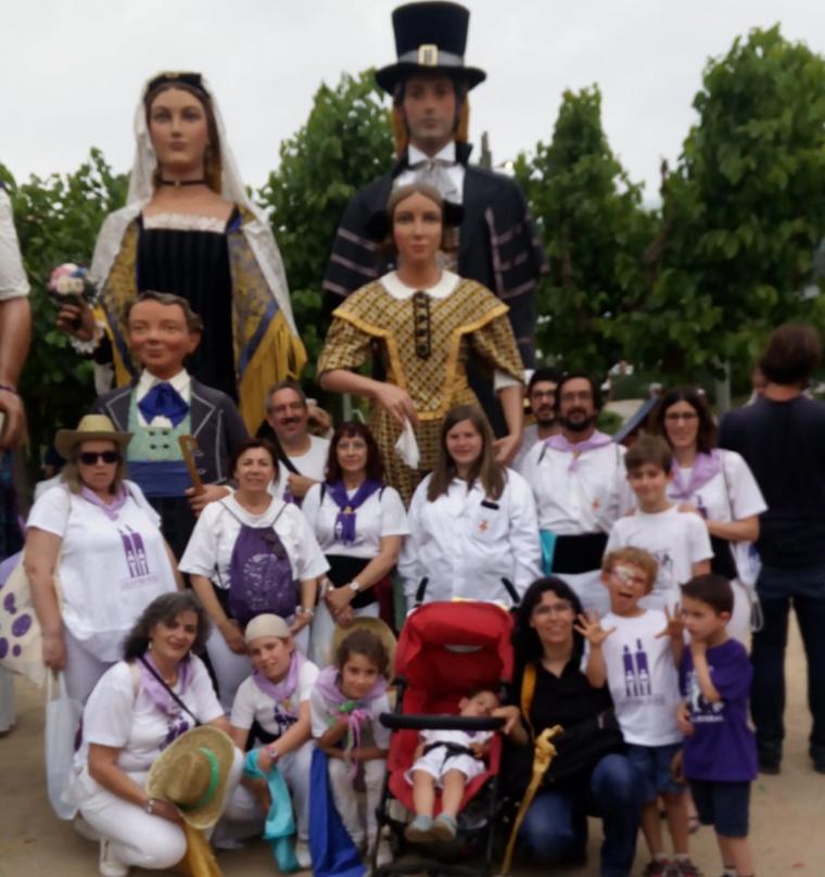La Colla Gegantera visita Castellbisbal