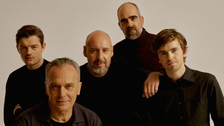 Parte del reparto de 'Way Down', el nuevo thriller español.
