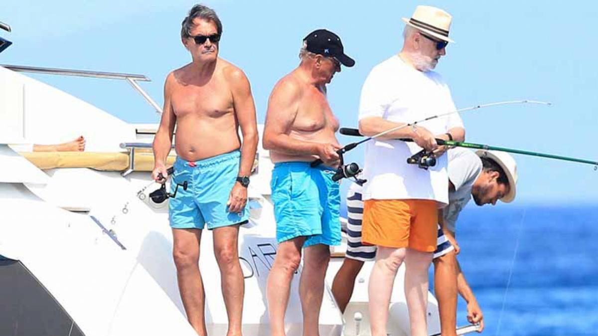 Artur Mas ha passat uns dies de viatge a Formentera, tal com ja ha fet en altres ocasions