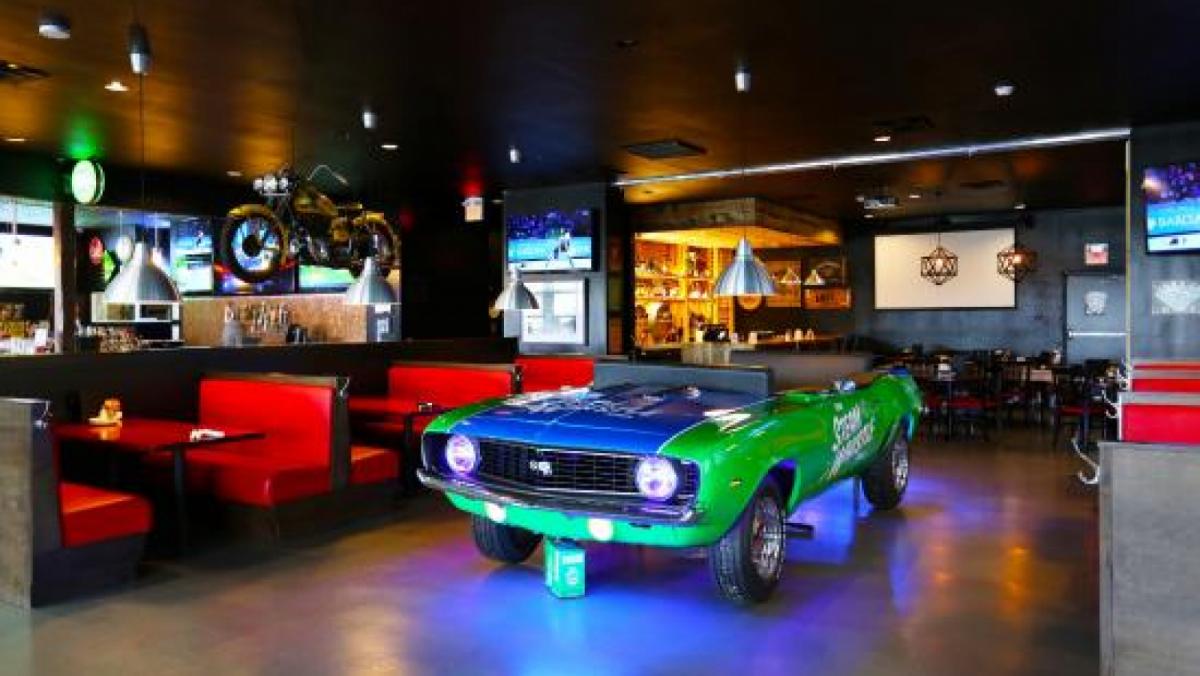 El bar Pub Fiction evoca l'obra mestra cinematogràfica de Tarantino
