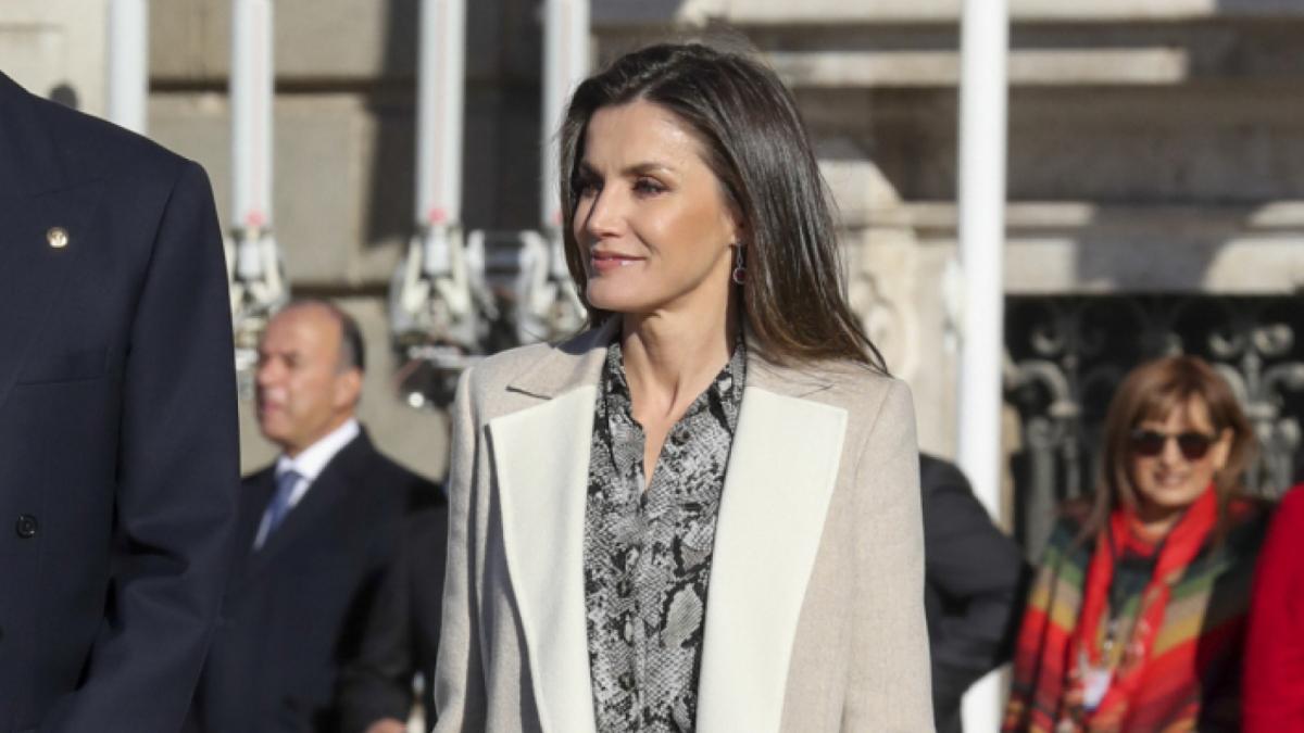 El 'look' complet de la reina Letícia
