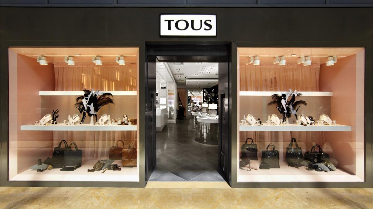 Establecimiento de una tienda de Tous