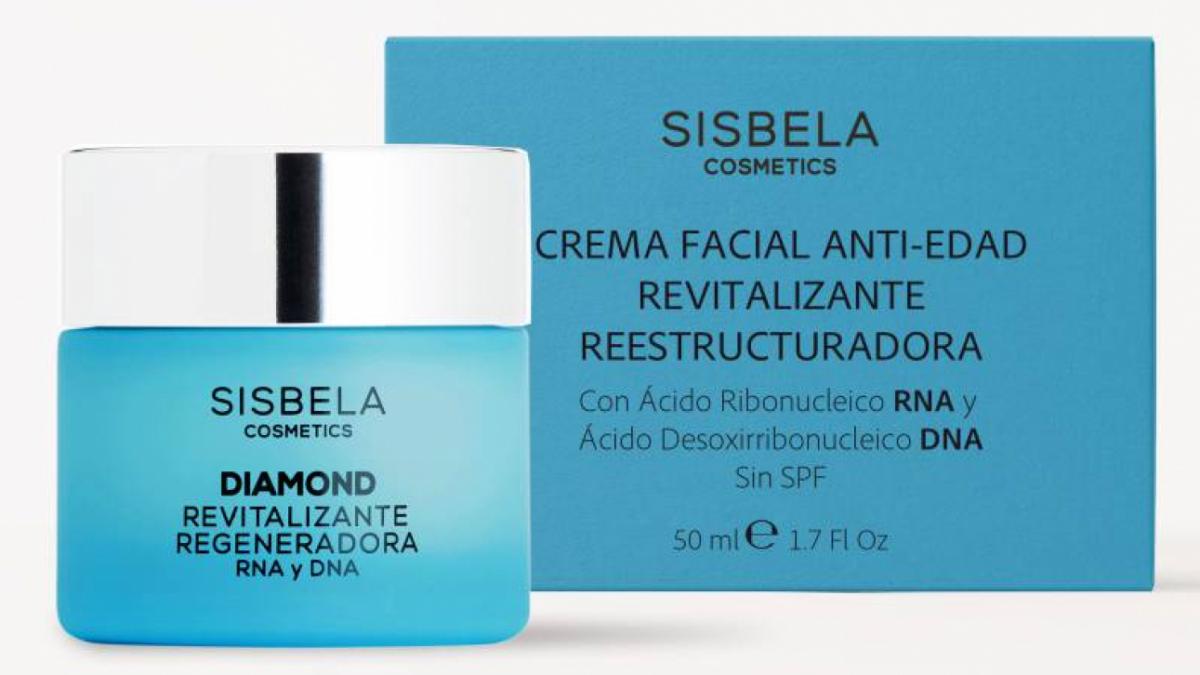 La crema facial Sisbela es un producto que comercializa en exclusiva Mercadona