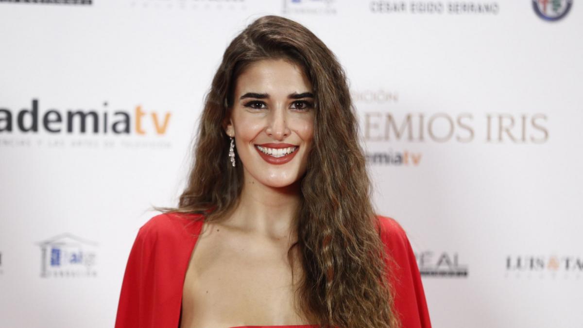 Lidia Torrent en los premios Iris de la Academia de Televisión