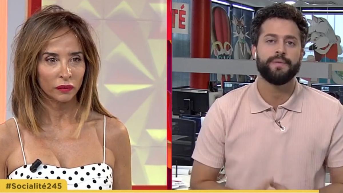 María Patiño en su momento más duro en 'Socialité'