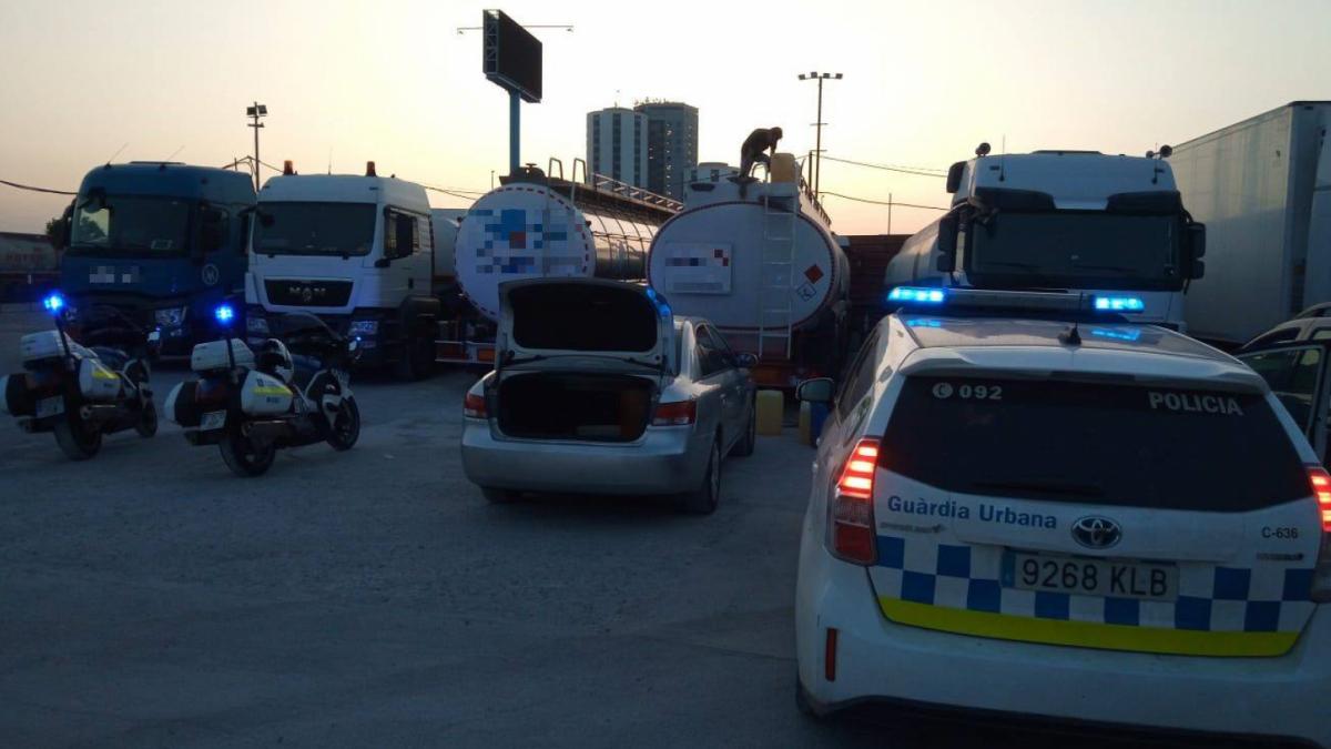 Todo el carburante ha podido ser devuelto a la empresa de donde había sido sustraído