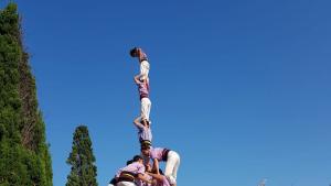 4de8 amb l'agulla carregat de la Jove de Tarragona a Sant Cugat del Vallès