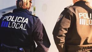 Agentes de la Policía Local de Ibiza lo detuvieron en el lugar de los hechos