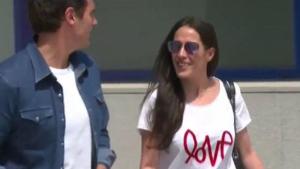 Albert Rivera ha sortit de l'hospital acompanyat de la seva parella, Malú