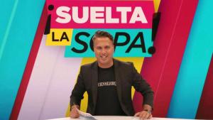 Alejandro Rodríguez en el plató de 'Suelta la Sopa'