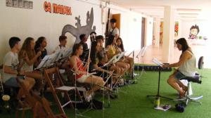Alumnat dels conservatoris de Reus, Tarragona i Tortosa a Rasquera
