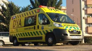 Ambulancia del DYA Extremadura