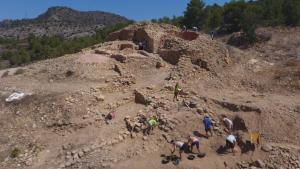 Aquest juliol s'ha dut a terme la vintena campanya d'excavacions al jaciment de l'Assut, a Tivenys