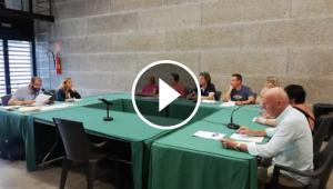 Assistents al Ple de la Junta de Veïns de l'EMD de Bellaterra del 15 de juliol del 2019