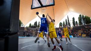Bàsquet als Jocs Mediterranis.