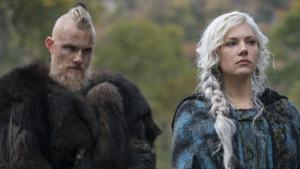 Bjorn y Lagertha los principales protagonistas de la temporada 6 de 'Vikingos'