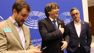 Carles Puigdemont i Toni Comín volen integrar-se en el grup dels Verds Europeus