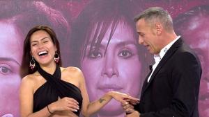 Carlos Lozano y Miriam Saavedra en 'Sábado Deluxe'