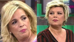 Carmen Borreo y Terelu más distanciadas que nunca