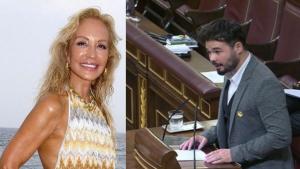 Carmen Lomana ha atacado a Gabriel Rufián