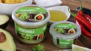 Carrefour lanza el primer guacamole del mercado sin conservantes ni gluten