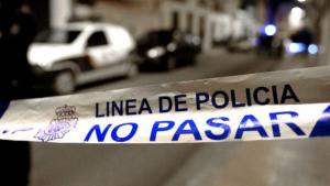 Cinta policial - no pasar