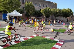 Com en les passades edicions, entre setmana s'han realitzarat diferents activitats i tallers a la plaça de Francesc