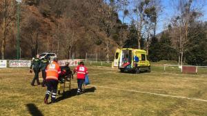 Dos personas han resultado heridas en el Pico de la Miel en Burgos